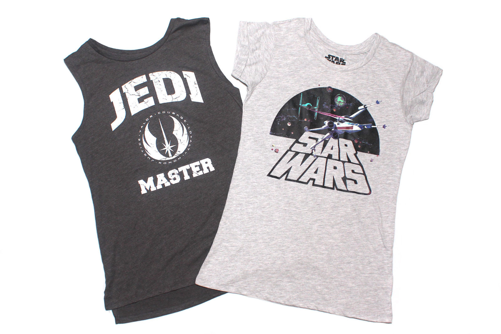 Women's Star Wars tops at Kmart NZ