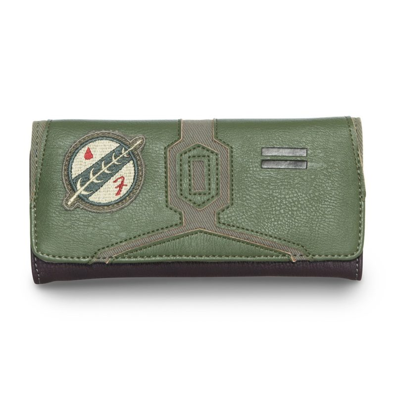Loungefly x Star Wars Boba Fett faux leather wallet