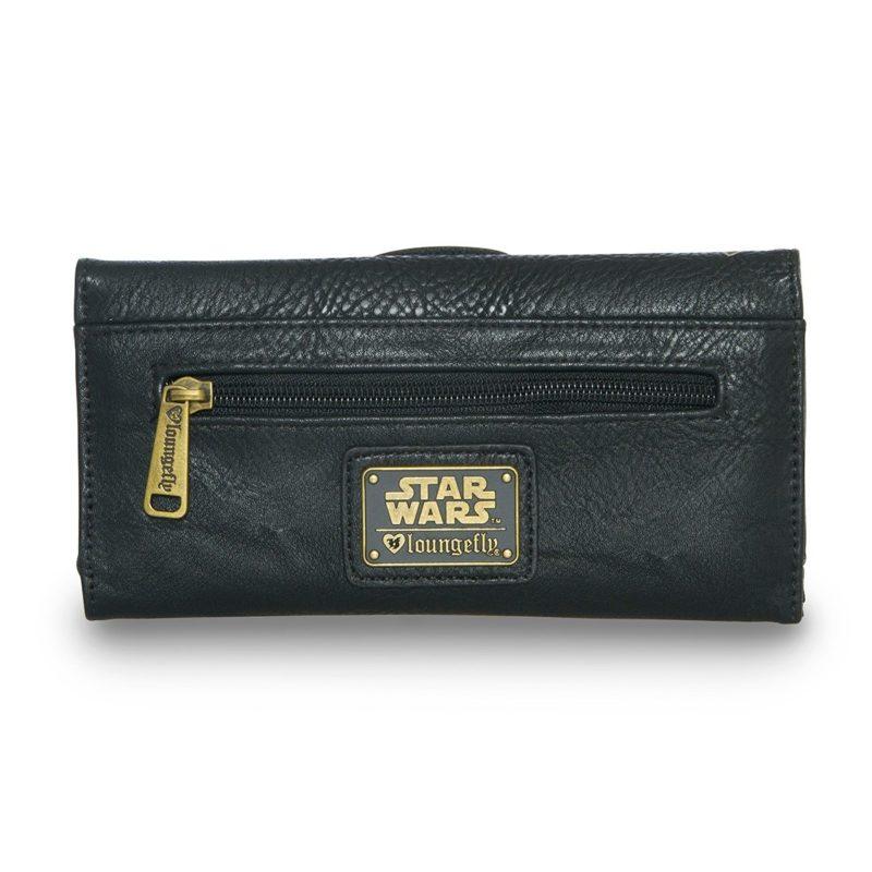 Loungefly x Star Wars Darth Vader gold sugar skull wallet