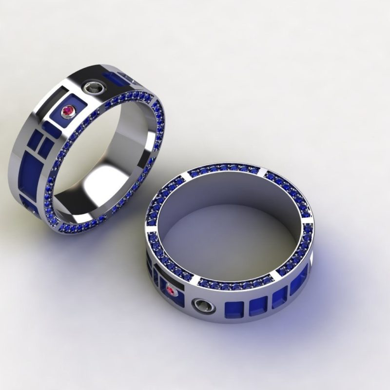 Star Wars inspired jewelry by Paul Michael Design