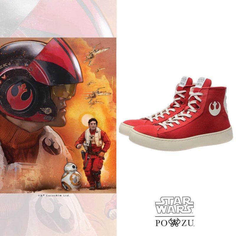 Po-Zu x Star Wars Resistance sneakers
