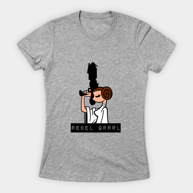 Women's Princess Leia t-shirt available at TeePublic