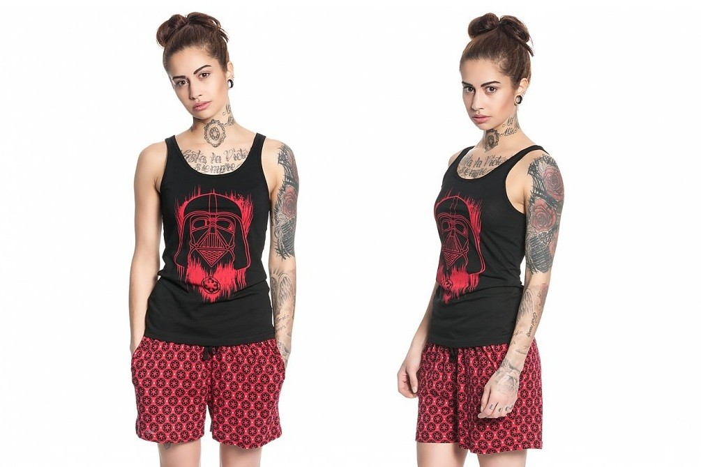 Women's Darth Vader pyjamas at TruffleShuffle