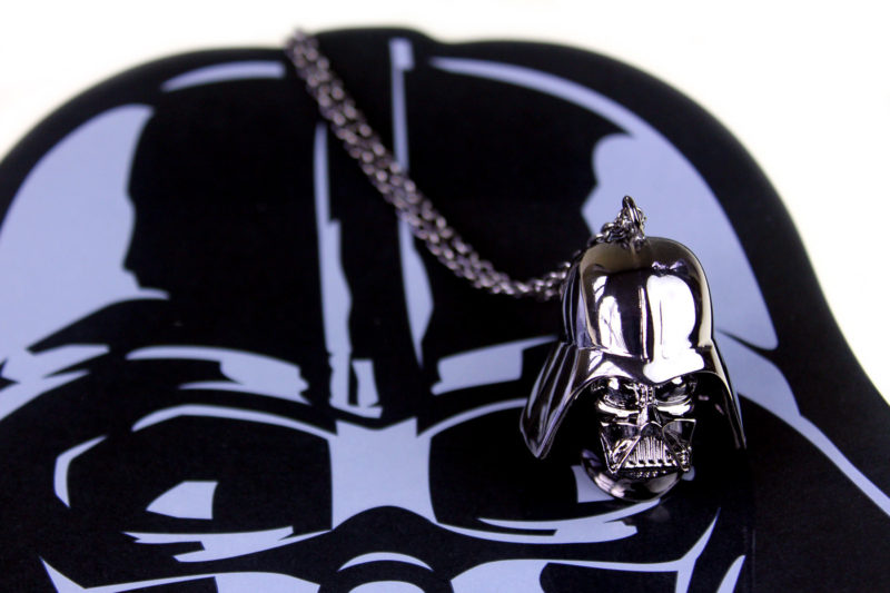 Love And Madness x Star Wars Darth Vader long chain necklace