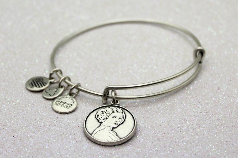 Alex and Ani x Star Wars Princess Leia bangle bracelet (silver tone)