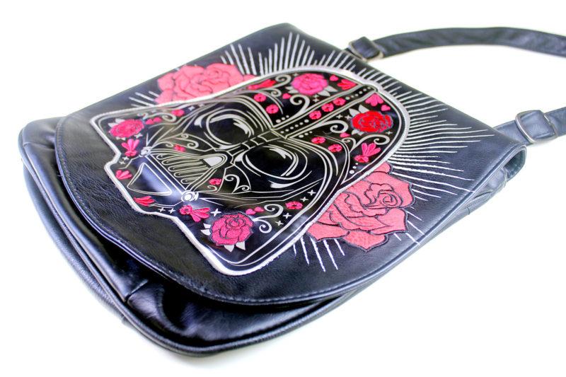 Loungefly x Star Wars Darth Vader Sugar Skull Roses crossbody bag