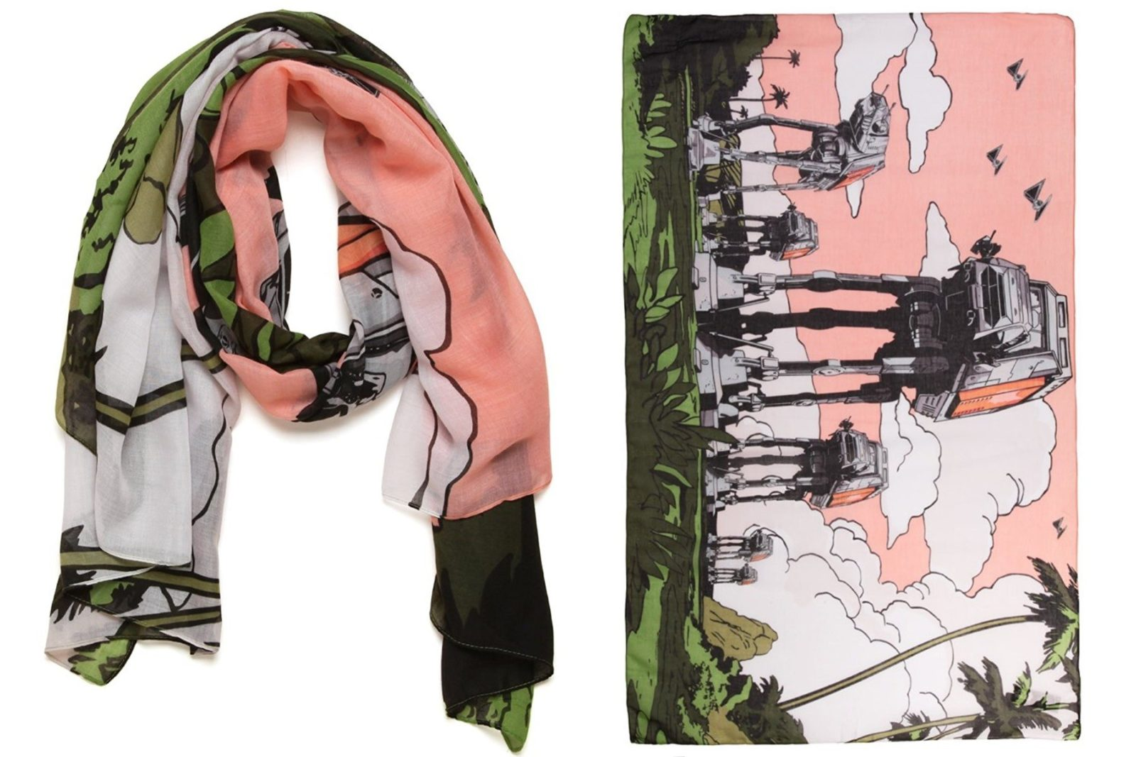 Star Wars Rogue One AT-ACT fashion scarf
