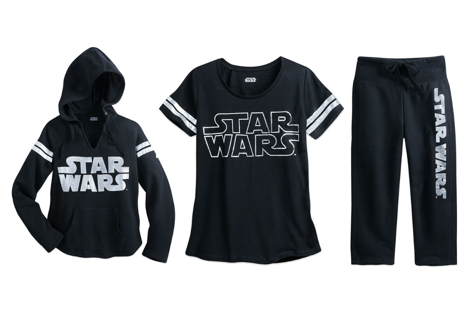 New women's Star Wars logo apparel range