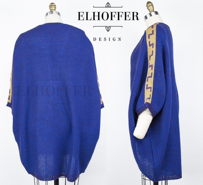 Star Wars Padme' Amidala inspired Galactic Twilight Dolman by Elhoffer Design