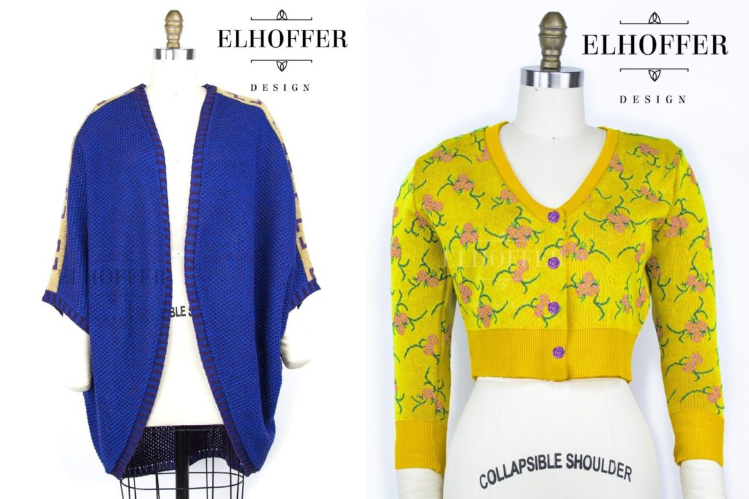 Star Wars Padme' Amidala inspired cardigans by Elhoffer Design