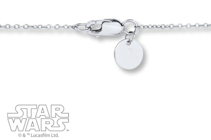 Kay Jewelers x Star Wars Join The Rebellion Sterling Silver necklace