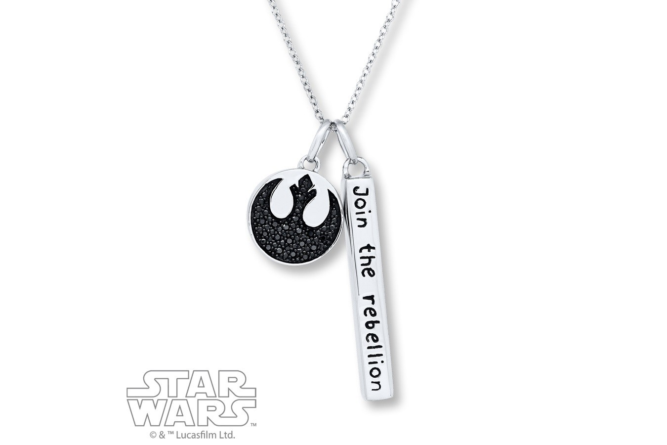 New Kay Jewelers Join The Rebellion necklace