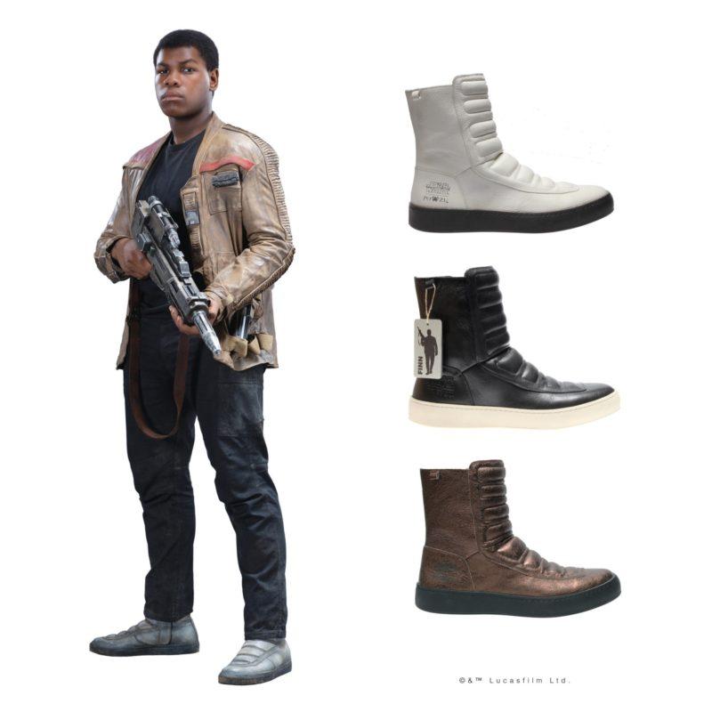 Po-Zu x Star Wars Finn boot preview