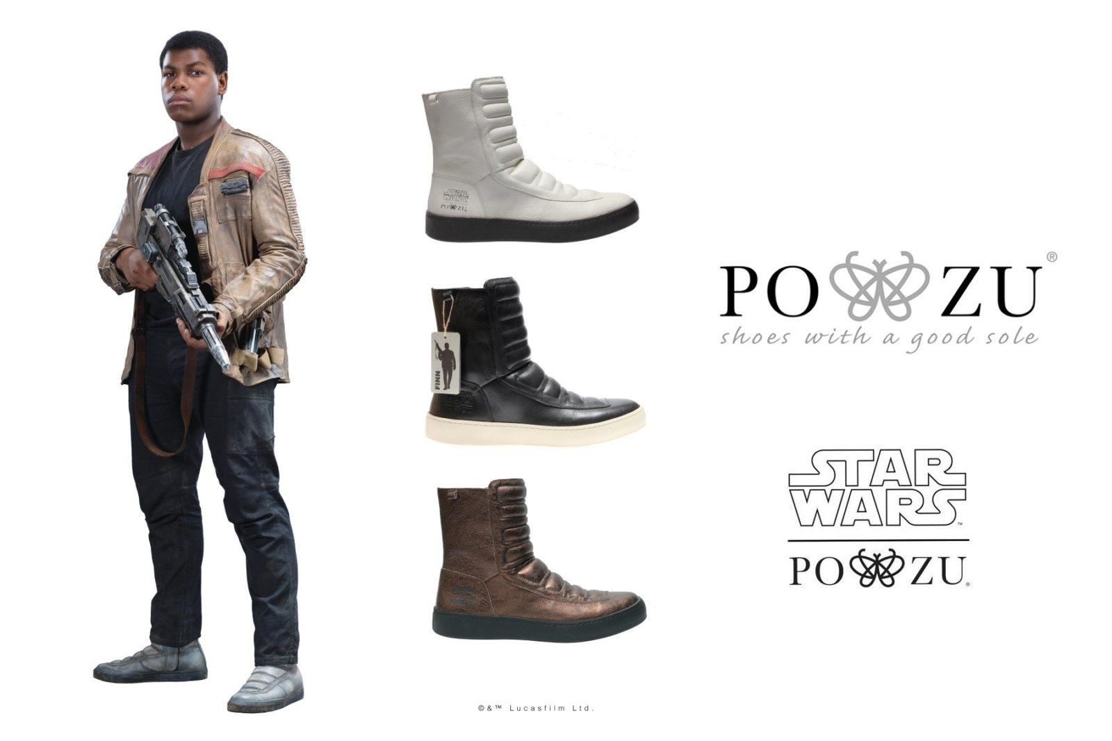 New Po-Zu x Star Wars Finn boot preview!