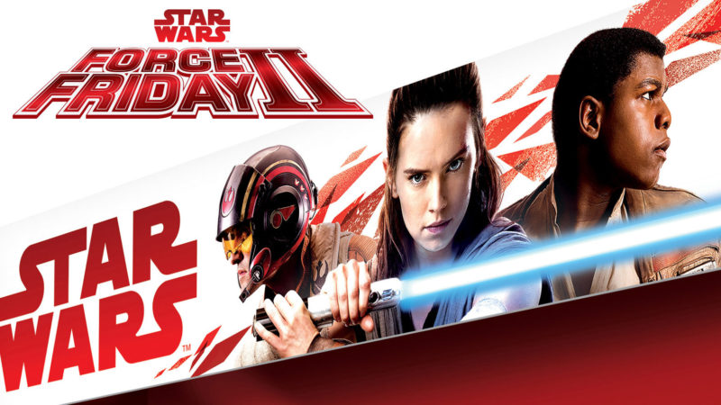 Star Wars Force Friday II announced for 1st September 2017