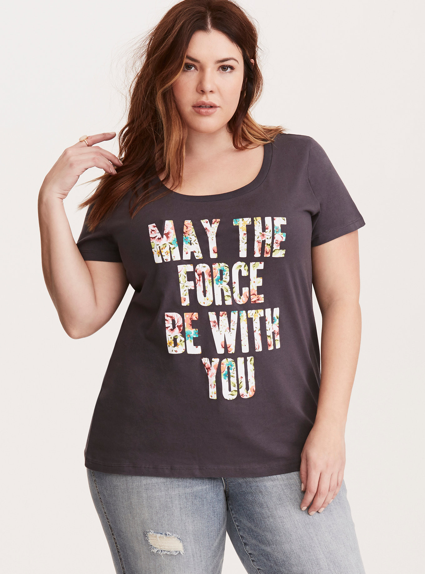 New women's Star Wars plus size tees at Torrid - The Kessel Runway