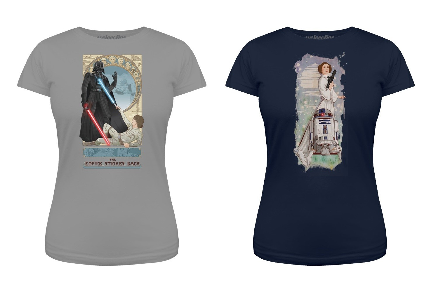 New Star Wars tees at We Love Fine