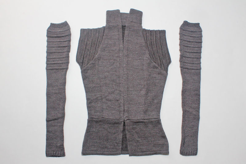 Star Wars Rey inspired Galactic Scavenger vest and arm warmers by Elhoffer Design