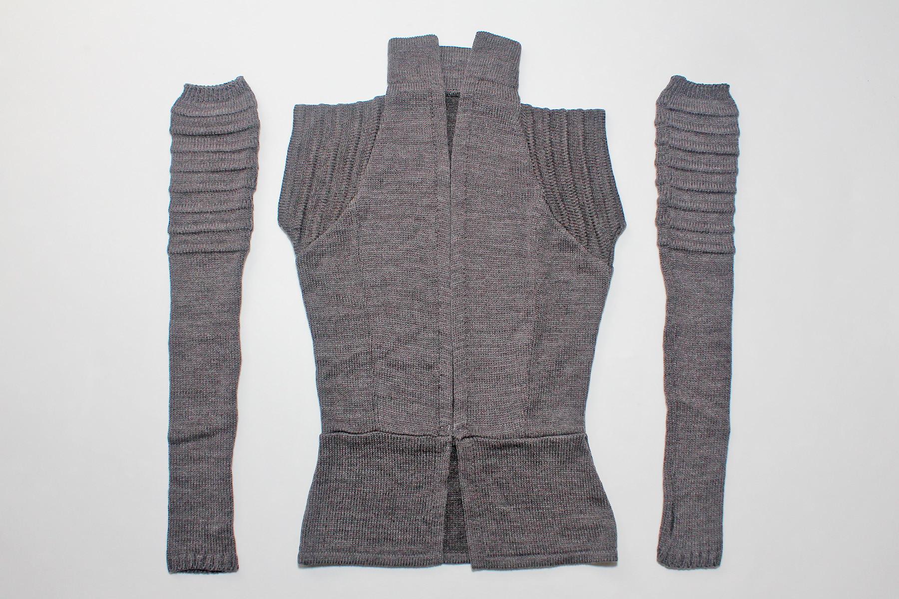 Arm Knitting Vest : Review elhoffer design knitted rey vest the kessel runway