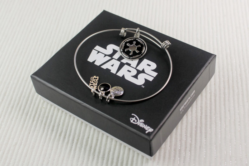 Body Vibe x Star Wars Imperial symbol expandable charm bracelet