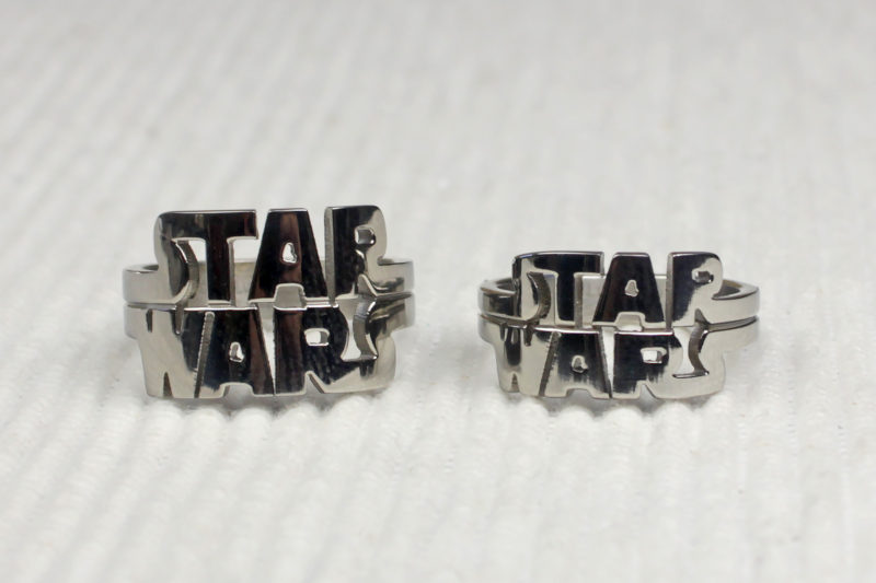 Body Vibe x Star Wars logo stainless steel ring