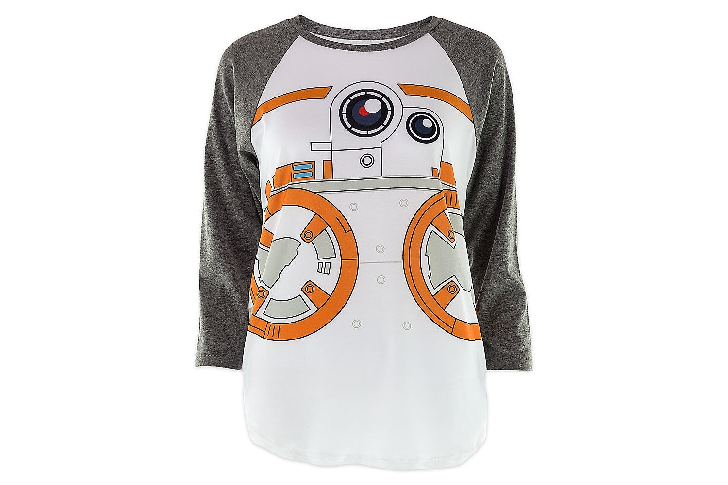 Women's BB-8 raglan tee at Disney Store