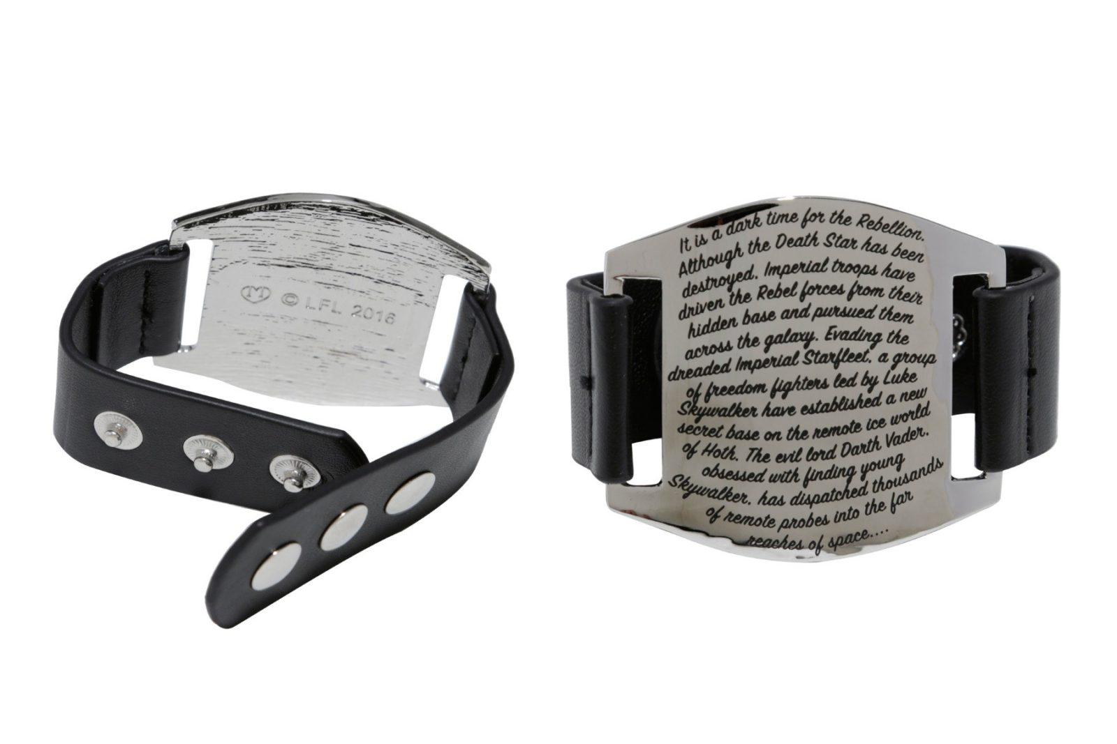 Love And Madness Star Wars cuff bracelet