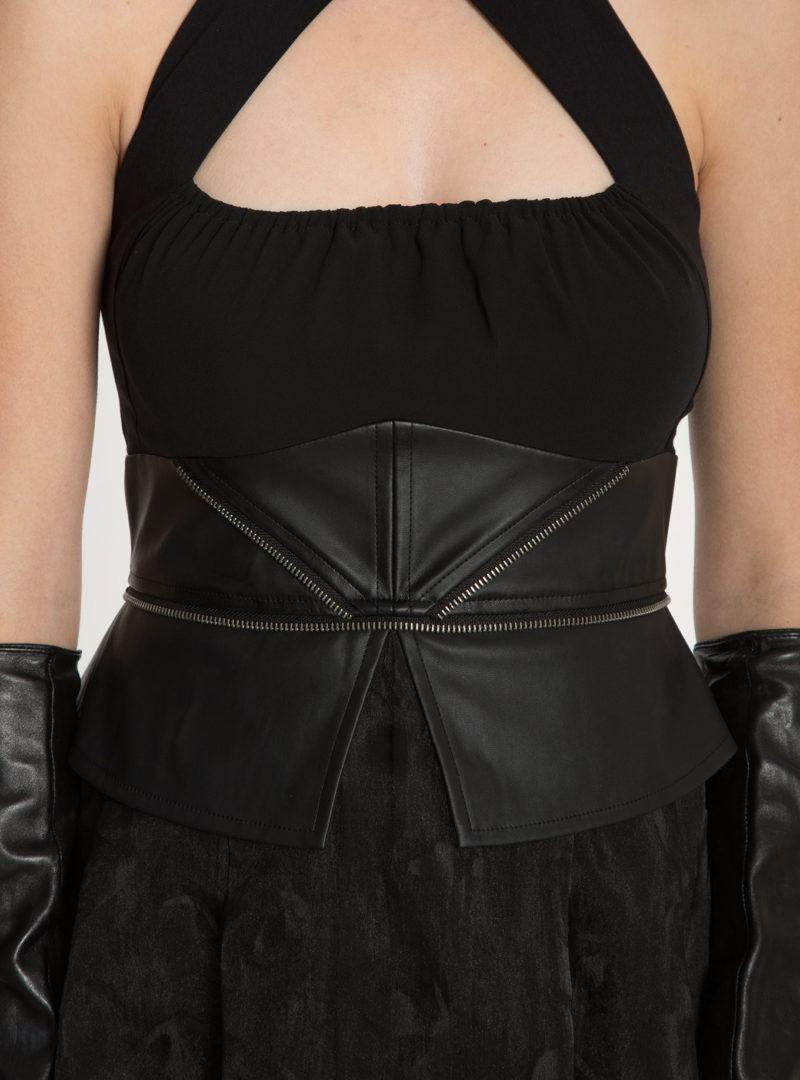 Women's Star Wars Darth Vader peplum sharkbite gown at Hot Topic