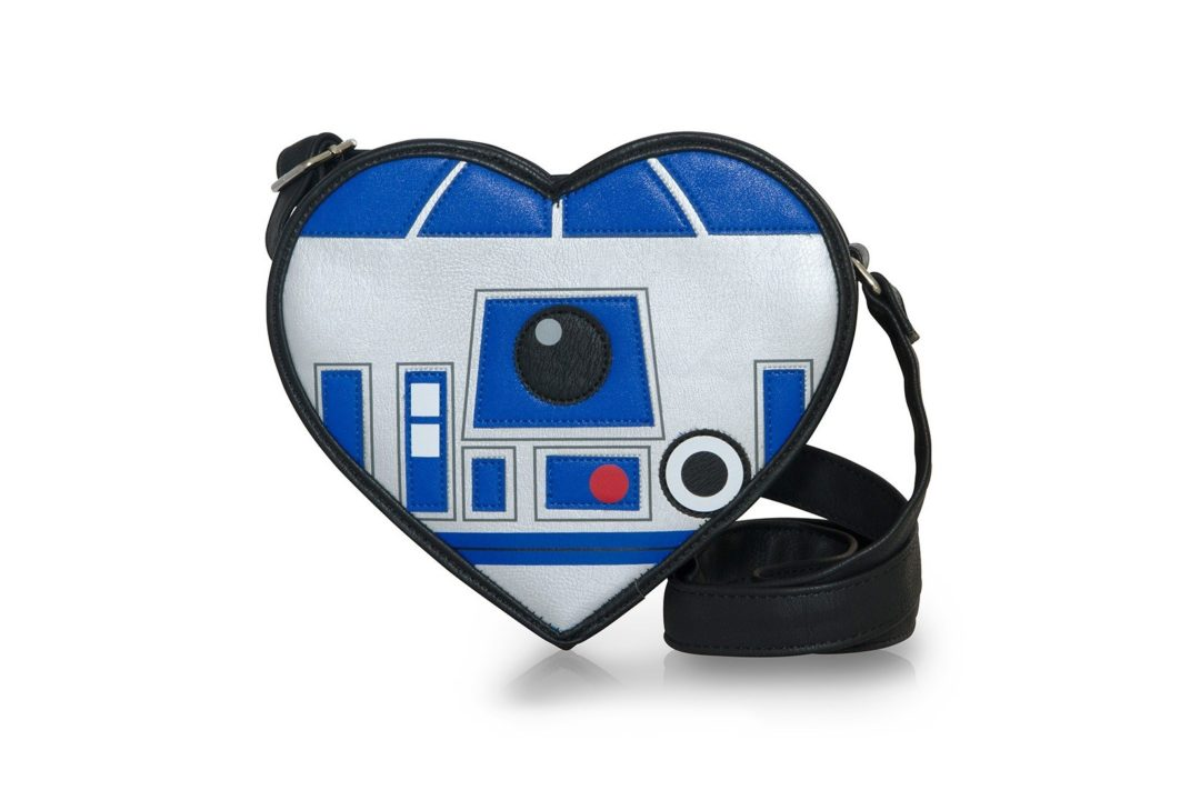 Loungefly x Star Wars R2-D2 heart shaped crossbody bag