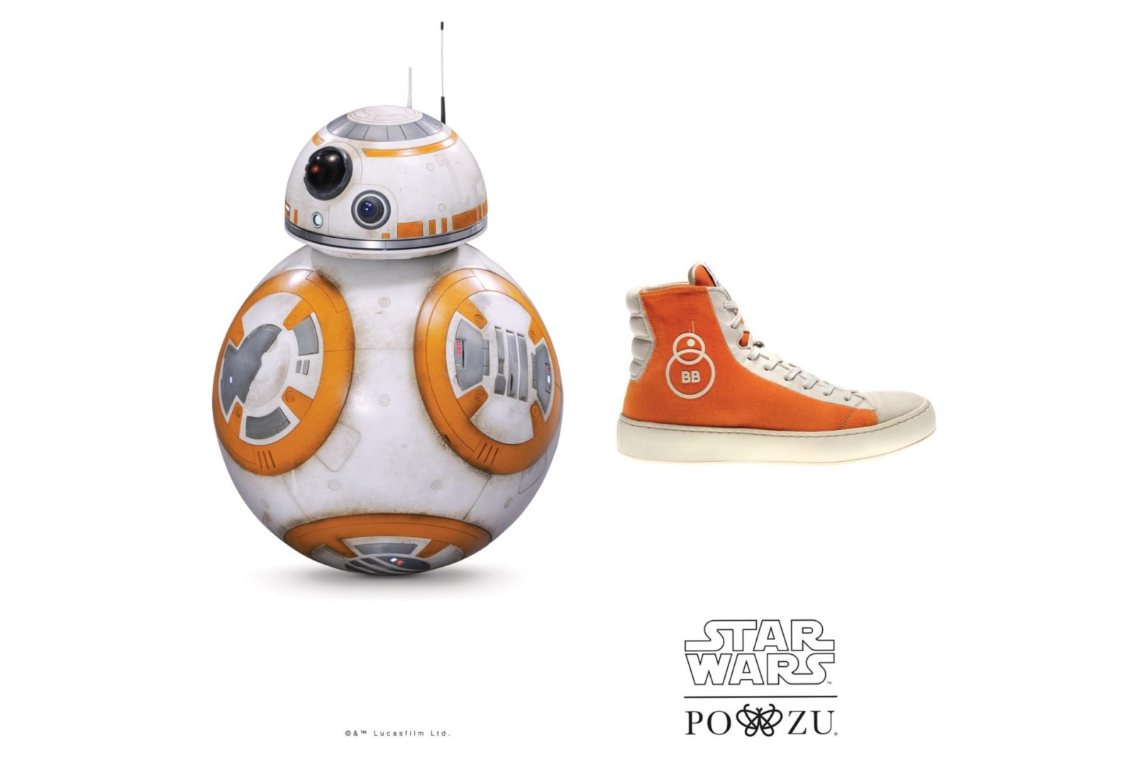 Po-Zu x Star Wars BB-8 sneaker preview!