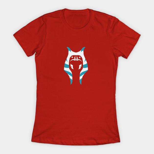 Women's Ahsoka Tano t-shirt available at TeePublic