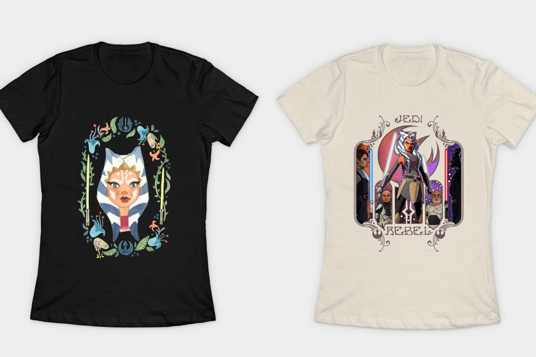 Need a new tee for Ahsoka Lives Day?