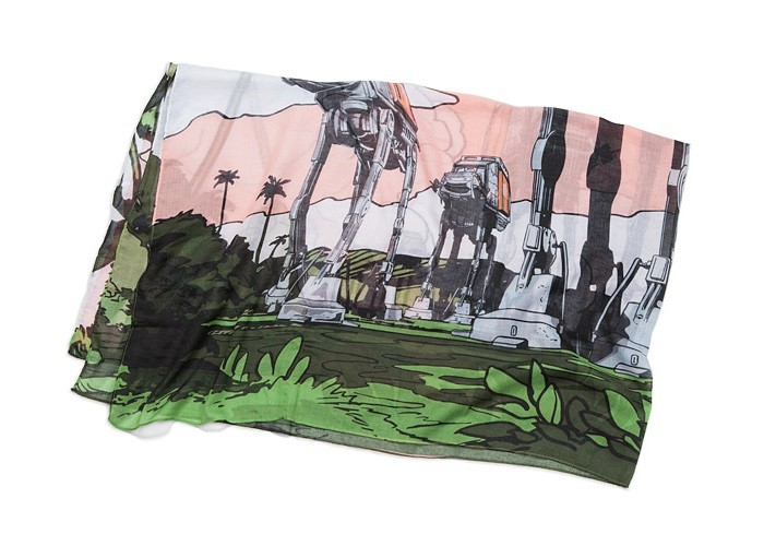 Rogue One AT-ACT Scarif fashion scarf at ThinkGeek