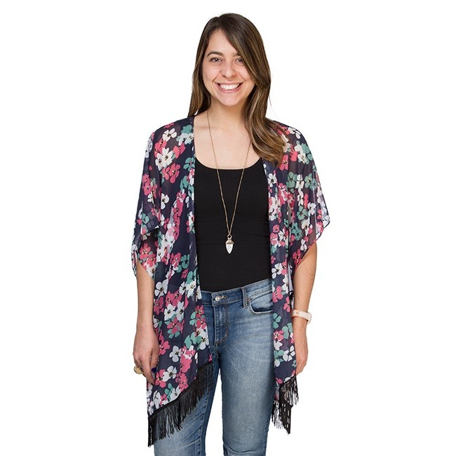Star Wars Floral Empire kimono wrap exclusive to ThinkGeek