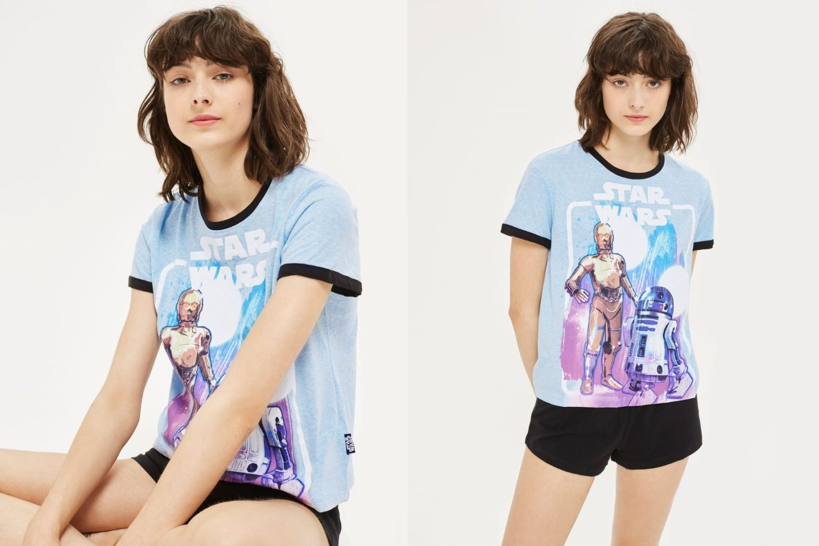 Women's Star Wars pyjama set at Topshop