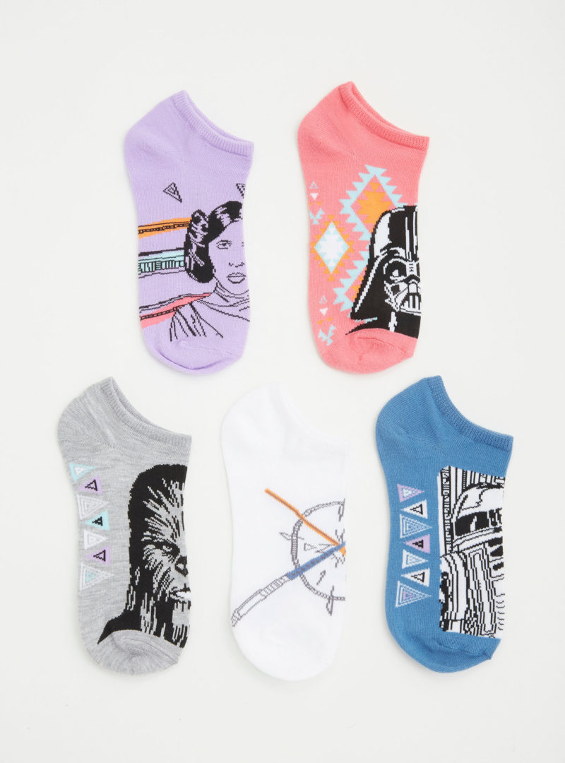 Women's Star Wars ankle sock 5-pack at Torrid