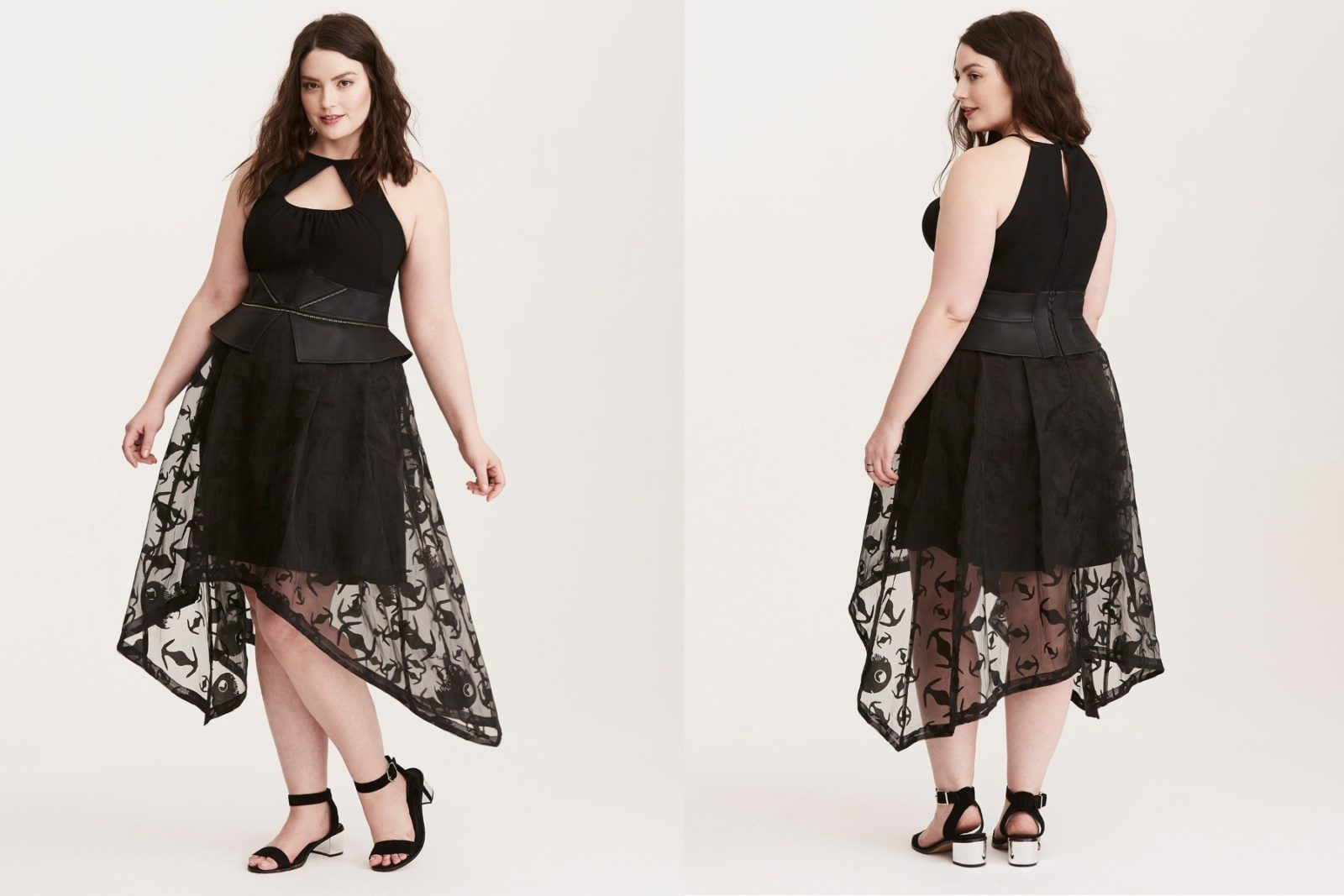 New Darth Vader halter dress at Torrid