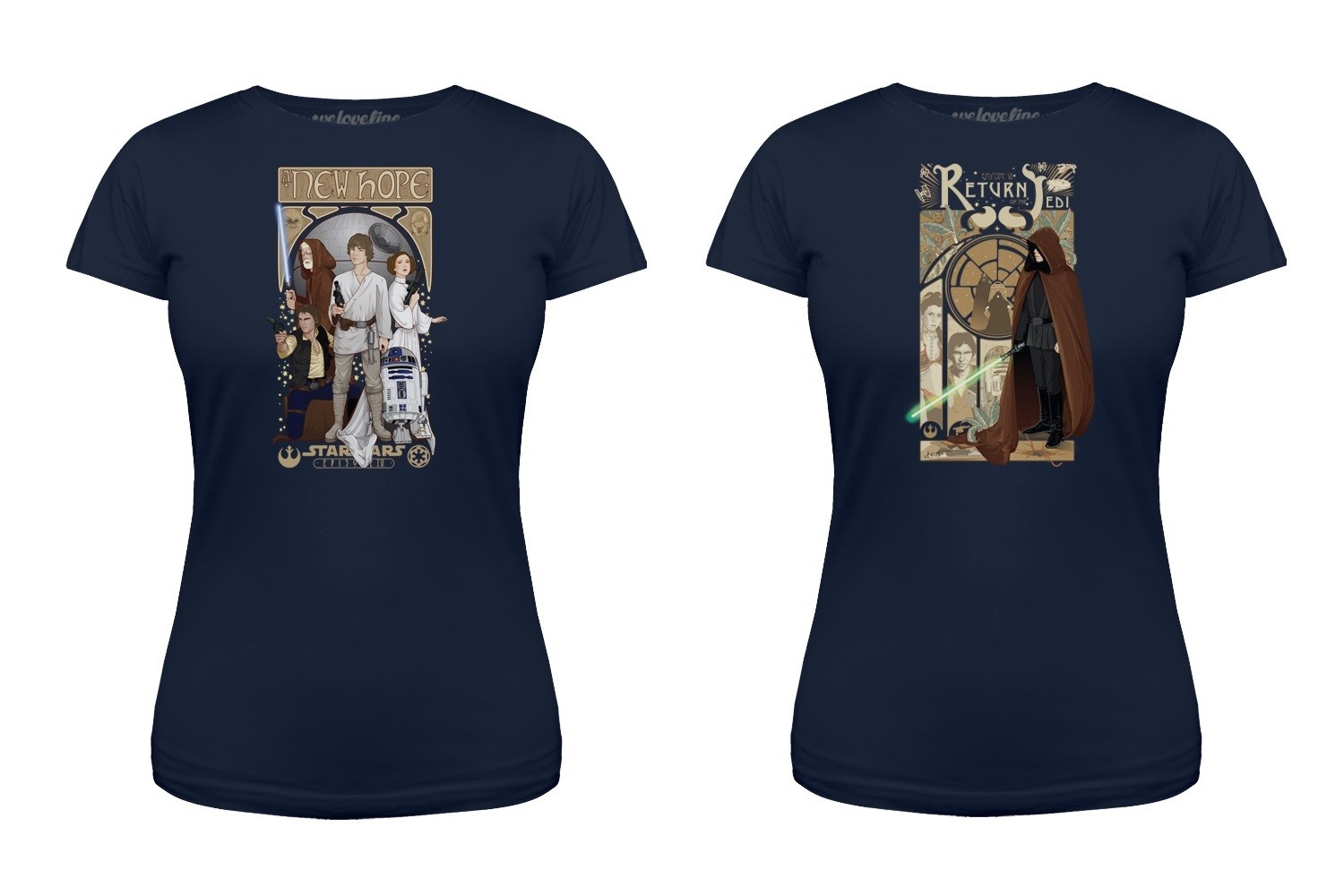 New Star Wars artwork tees at We Love Fine