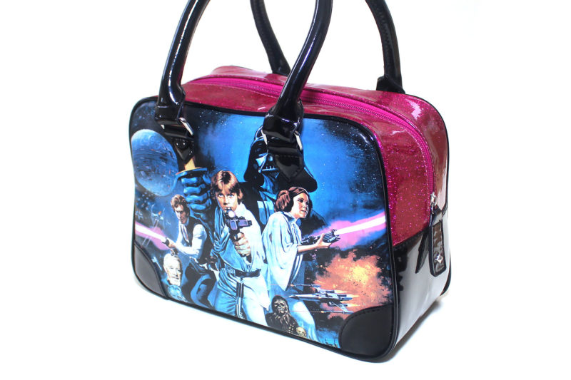 Rock Rebel Star Wars Glitter Handbag