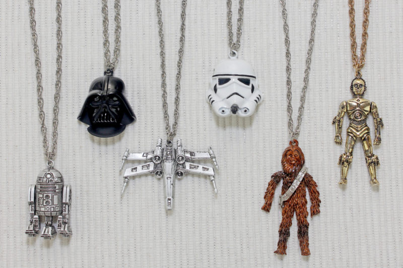 Weingeroff Star Wars Necklaces (1977)
