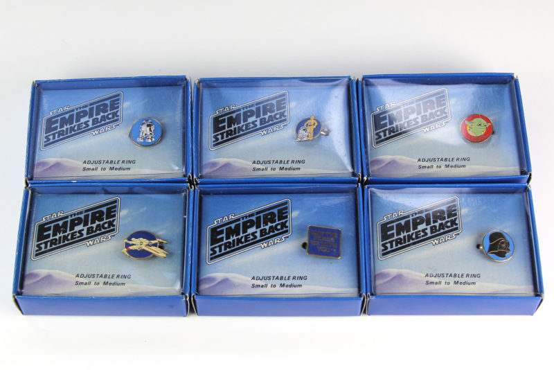 Wallace Berrie Empire Strikes Back Rings (1980)