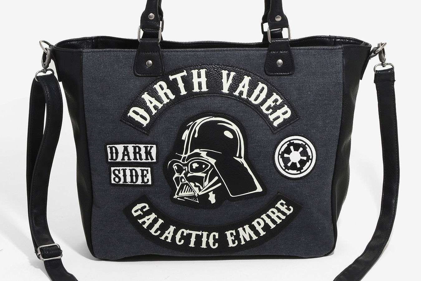 New Loungefly Darth Vader Denim Bag