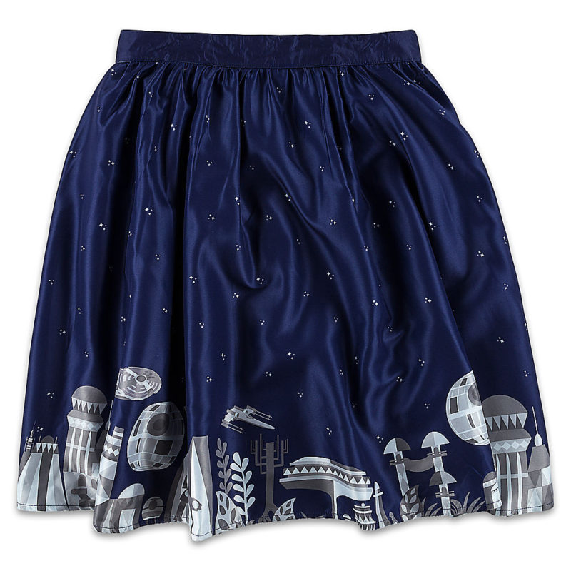 Her Universe x Star Wars Ashley Taylor artwork Galactic Skirt at the Disney Store