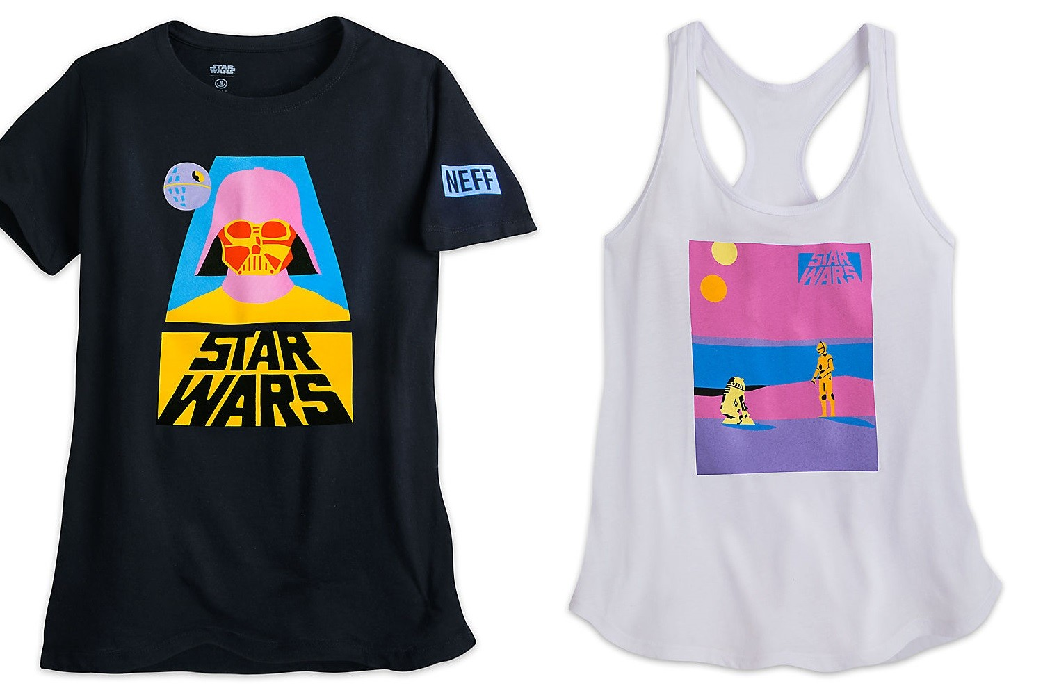 NEFF x Star Wars fashion at Disney Store