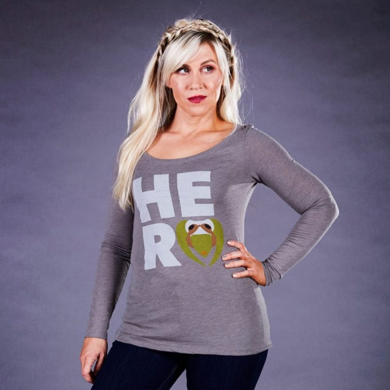 Her Universe x Star Wars Rebels Hera Syndulla long sleeved top at Celebration Orlando