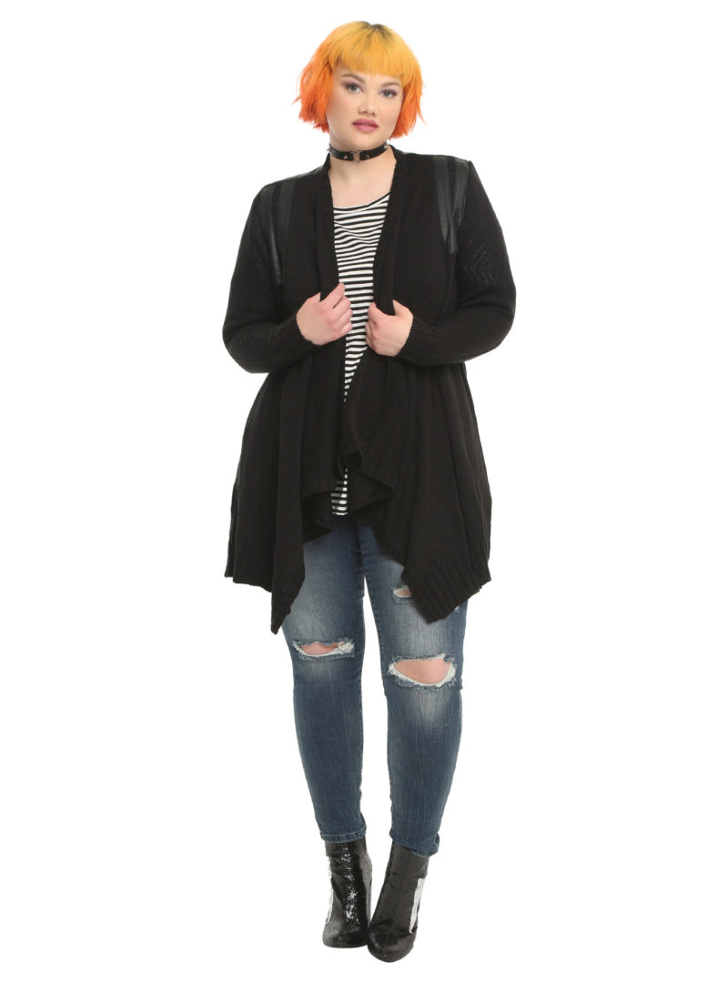 Her Universe x Star Wars Darth Vader plus size cardigan at Hot Topic