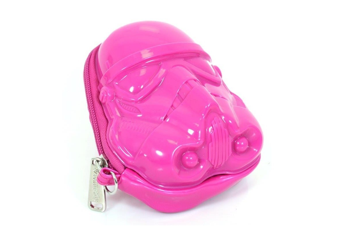 Loungefly pink Stormtrooper wristlet