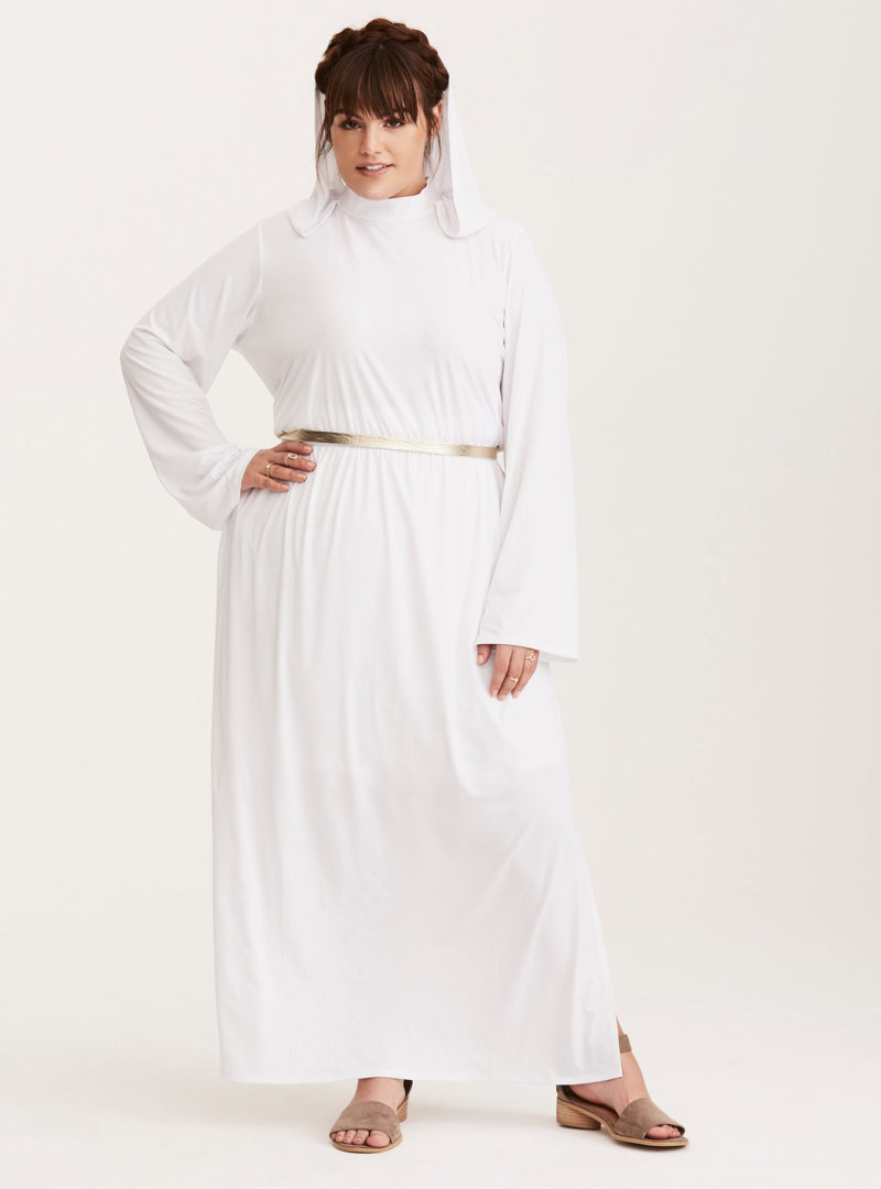 Her Universe x Star Wars Princess Leia everyday cosplay style costume dress at Torrid