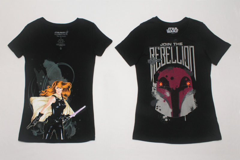 Mara Jade and Sabine Wren T-Shirts