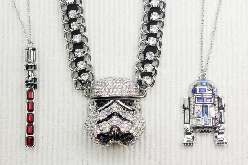 SG@NYC Star Wars rhinestone jewelry